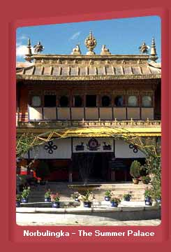 Norbulingka - The Summer Palace, Tibet
